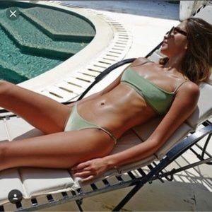 NWT Triangl velvet bikini bottom